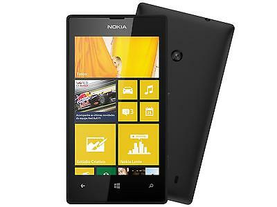 BRAND NEW Nokia Lumia 520 - 8GB - Black (AT&T Unlocked) Quad Band GSM Smartphone