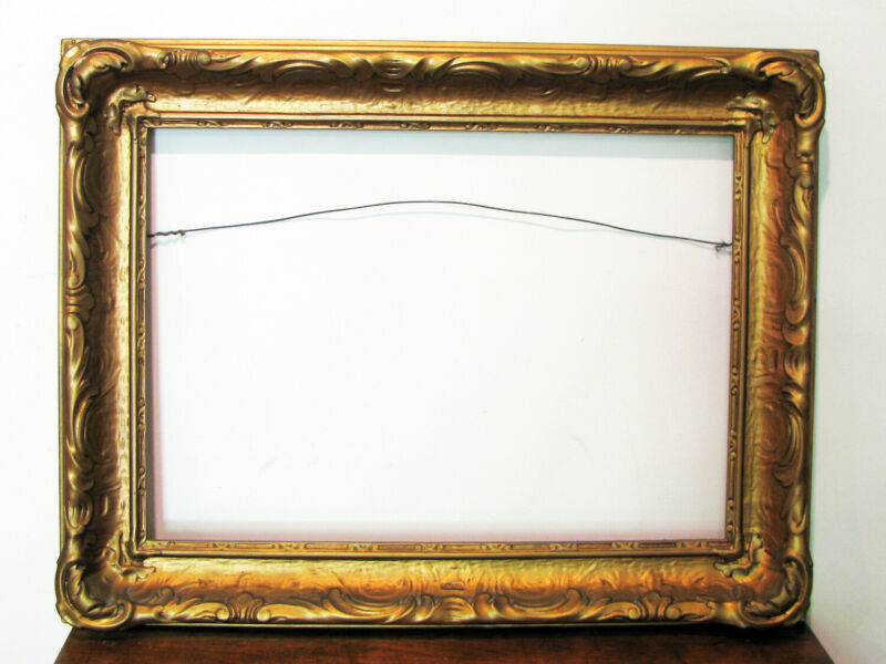 Antique ART & CRAFTS PICTURE FRAME - NEWCOMB MACKLIN STYLE