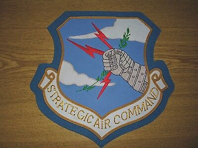 SAC Strategic Air War Nuclear Bomber B 52 Boeing Air Force Patch Jacket Plaque B for sale  Shipping to Canada