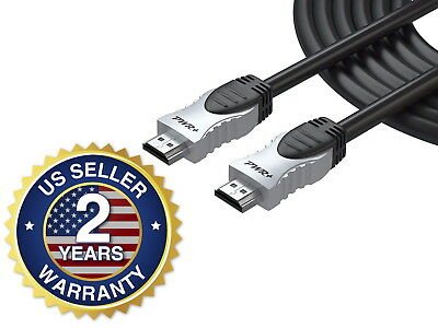 12 FT 4K HDMI Cable 2.0 for PS3 PS4 Xbox One 360 Apple TV HD