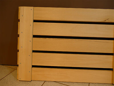 Sauna Boden Bodenrost 53 X 133 Cm Fussrost Holz