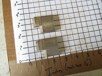Pair 30 Degree Moulder Blades Bits Knives 516 Corrugated Back Shaper Router