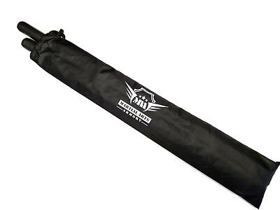 Foam Padded Training Escrima Stick with Free Carry Case Bag - Pair