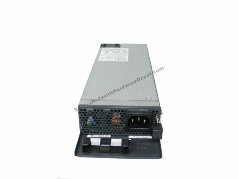 Cisco PWR-C2-250WAC AC Power Supply for 3650/2960XR Switches - 1 Year Warranty