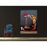Ronald McDonald Banksy Street Art Canvas Print 36 x 24 Print Urban Art