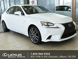 2016 Lexus IS 200t F SPORT 1 w/ power moonroof, heated seats...