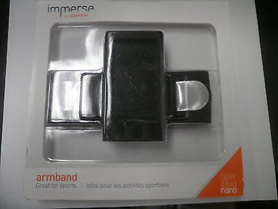 Ipod Nano Black Armband - Griffin Immerse Apple iPod nano 7G Armband, Black GB35884