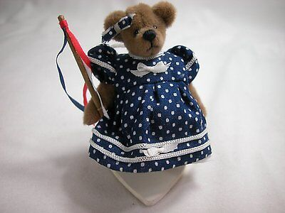 "World of Miniature Bears 2.5"" Plush Bear Pati #695 Collectible Miniature Bear"