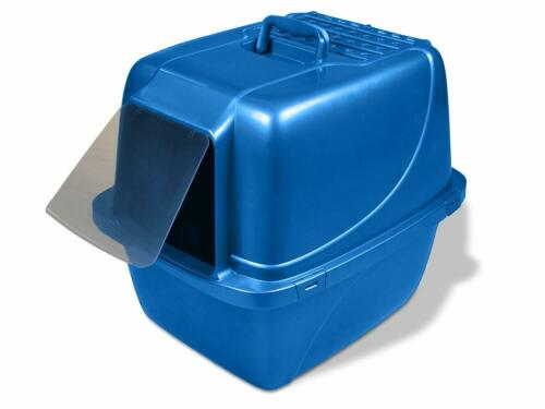 Van Ness Covered Cat Litter Box , Extra-Giant , Blue