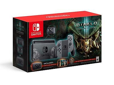 Nintendo Switch Diablo 3 III Eternal Collection Bundle - 32GB System Console NEW