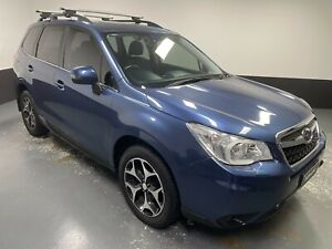 2013 Subaru Forester S4 MY13 2.5i-S Lineartronic AWD Marine Blue 6 Speed Constant Variable Wagon Hamilton East Newcastle Area Preview