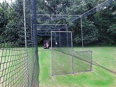 8e151057ede L-Screen 7  x 7  Residential Baseball Safety Frame    42-60Ply Pitcher L  Screen