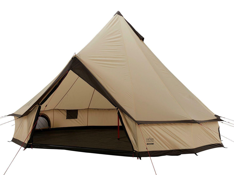 Tipi Zelt Campingzelt Indiana Beige 8 Moskitonetz Einsätze Grand Canyon B-Ware