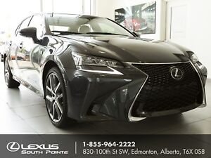 2017 Lexus GS 350 F SPORT Series 2 w/ navigation, head-up dis...