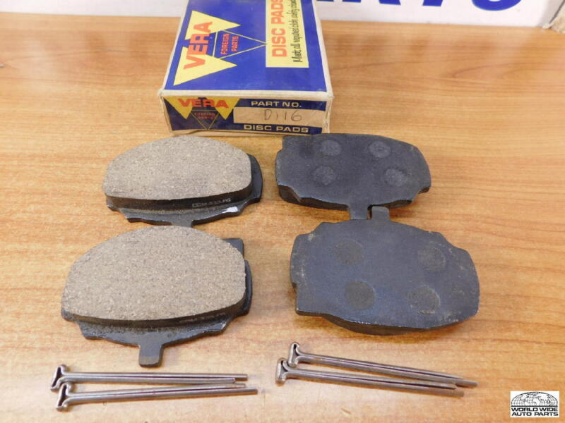 Sunbeam Alpine GT & Triumph 2000 Brake Pads   D116  1965-1969