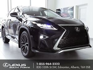2017 Lexus RX 350 F SPORT 2 w/ moonroof, backup camera and na...