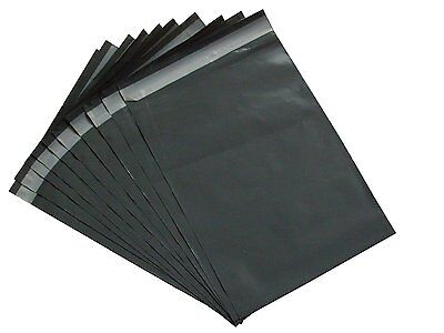 50 Grey STRONG Mailing Postal Bags Polybags UK Packaging 12 x 16 inch (305x405)