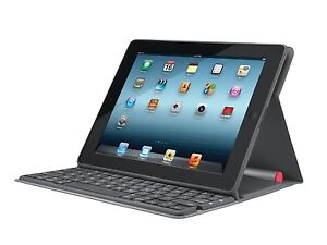 Logitech Solar Keyboard Folio Case and Stand for iPad 2, 3, and 4