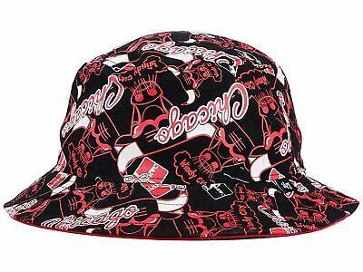Michael Jordan Chicago Bulls 47 BRAVADO Bucket Hat NBA L XL NWT