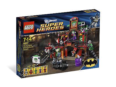 Lego   Batman   6857 The Dynamic Duo Funhouse Escape   New  See Description