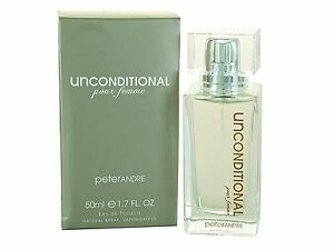 Peter Andre Unconditional Eau De Toilette for Her perfume 50ml NEW, SEALED