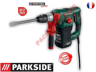 Parkside Martillo Taladro Y Neumático Con Sds-Plus Pbh 1500 F6 1500W