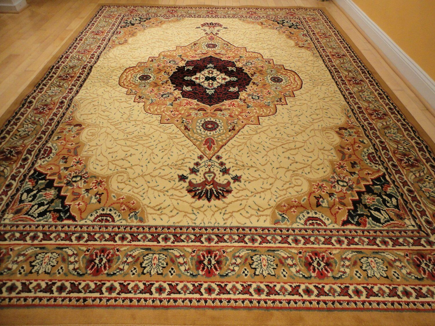 Beige Area Rugs 8x11 Persian Rugs 5x8 Carpet 8x11 Cream Trad