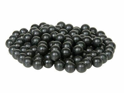 500 NUOVO GIALLO .43 CAL Riutilizzabile In Gomma Formazione Balls Paintball
