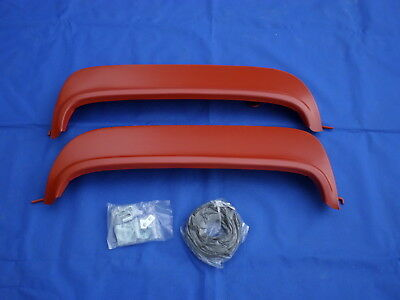 NEW 1955 1956 Ford Fairlane Customline Mainline Victoria Metal Fender Skirts