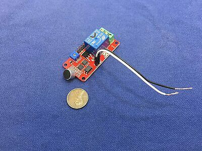 Voice Switch Corridor Sound Module Sound Sensor 12v Relay Detector Nonc Wave C17