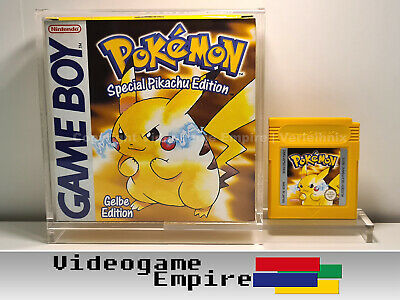1x ACRYL BOX Nintendo Game Boy / Color / Advance Spiele OVP...
