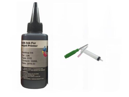 100ml refill ink for Canon cartridge PG-243 CL-244 PIXMA MX492 MG2520 MG2522