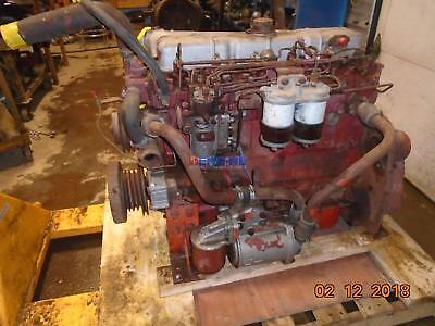 Perkins 6.354 Engine Complete Good Running A- Esn 3543u6714tl Bcn 3711490012