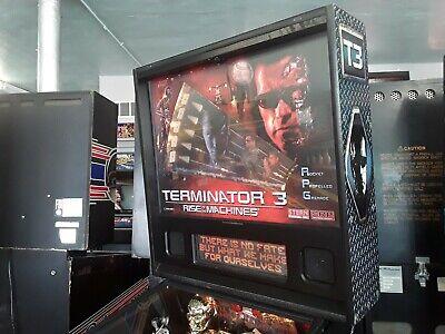 Terminator 3: Rise of the Machines Pinball Machine by Stern-FREE SHIPPING