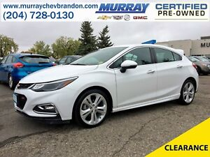 2018 Chevrolet Cruze Premier RS FWD *Projection* *Wifi* *Backup