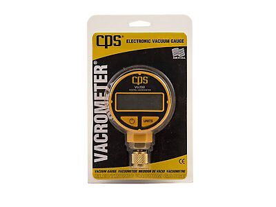Cps Vg200 Vacuum Gauge With Digital Lcd Display