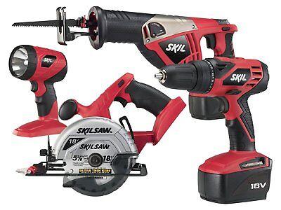 SKIL 2888-10 18-Volt 4-Tool Combo Kit Sale