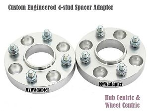 Wheel Spacer Adapters 15 mm 4x114.3 To 4x100 Conversion Hub Centric A Pair of 2