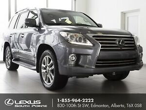 2015 Lexus LX 570 EXECUTIVE PACKAGE