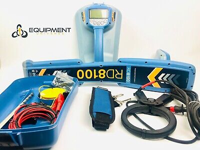 Radiodetection Spx Rd8100 Pdl Tx10 Cable Pipe Fault Locator Utility Bag