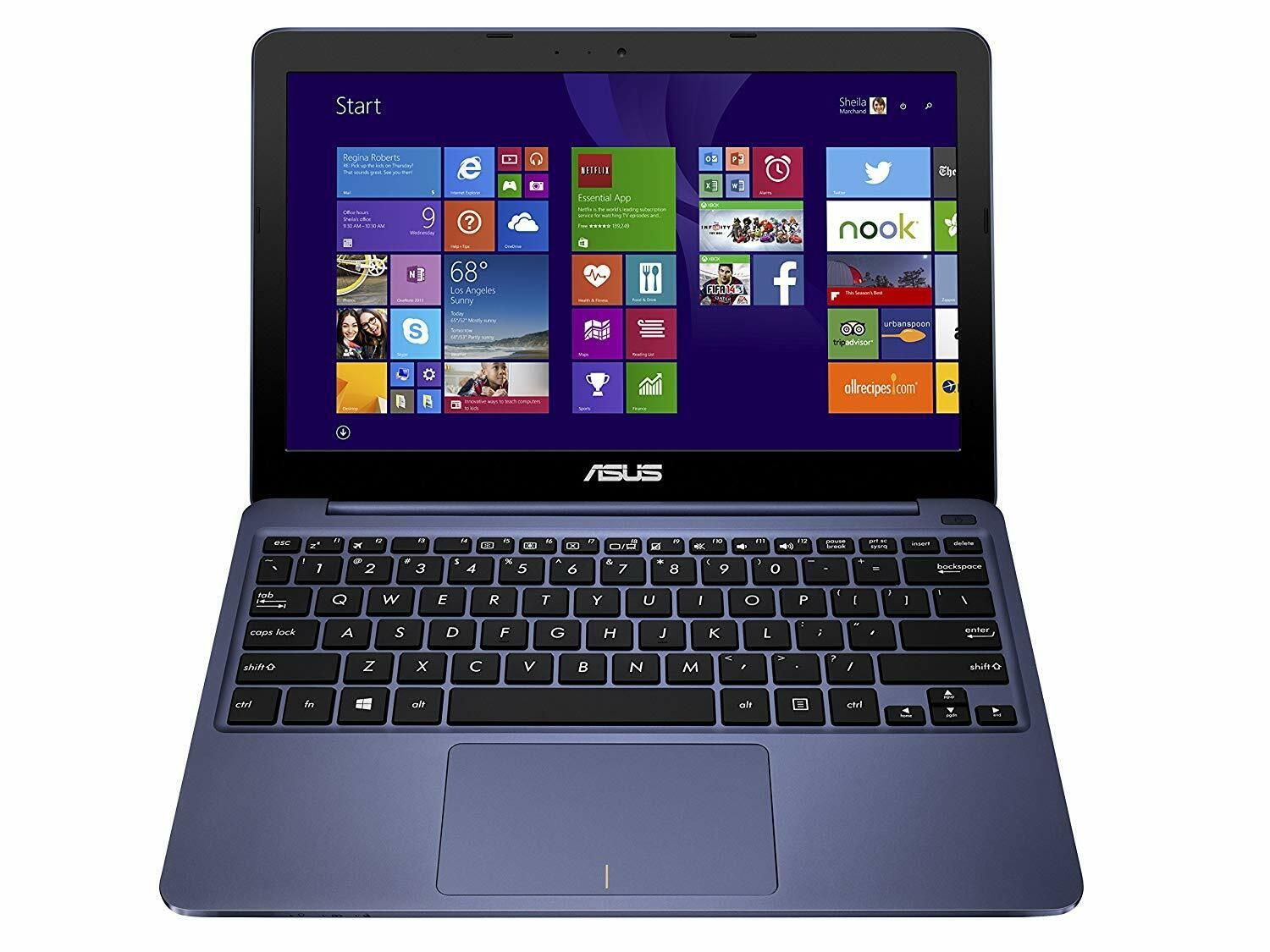 "Laptop Windows - ASUS EEEBook X205TA 11.6"" Light Weight Laptop Intel Dual Core, 32GB, Windows 10"