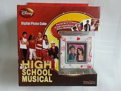 Digital Photo Cube (Digital Photo Cube Disney High School Musical, Hannah Montana -Up To 70 Photos  )