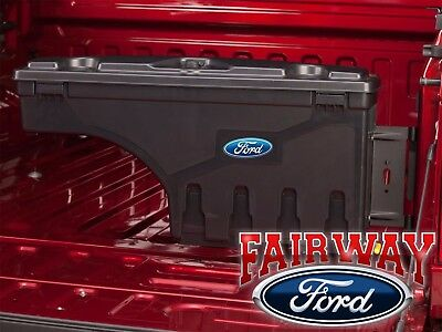 17 thru 19 Ford F-250 F-350 OEM Ford Lockable Pivot Storage Bed Box Passenger RH for sale  Canfield