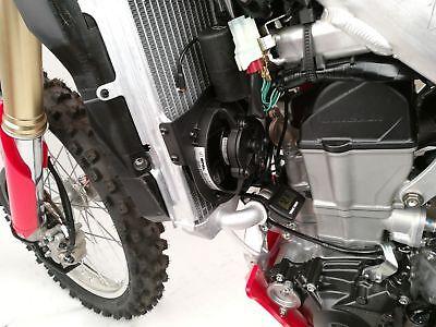 Trail Tech Digital Radiator Fan Cooling Kit For Honda CRF 450 R RX  732-FN13
