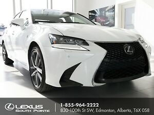 2017 Lexus GS 350 F SPORT 2 w/ backup camera, power moonroof...