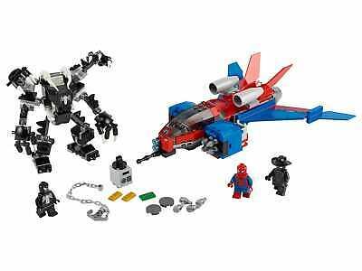 LEGO Marvel 76150 Spiderman Jet and Venom Mech ONLY NO MINIFIGURES