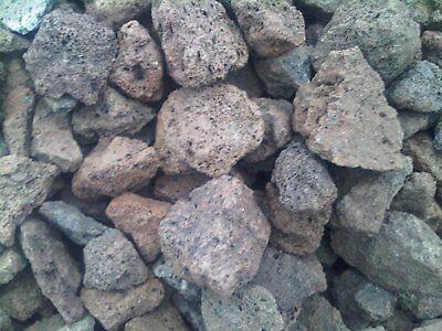50 kg lava rocks 40-150 mm - BBQ  gas barbecue  charcoal barbecue  garden decor
