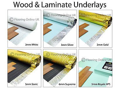 5mm Sonic Silver Underlay Wood Or Laminate Flooring