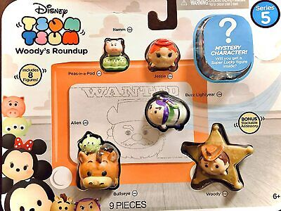 Disney Tsum Tsum 9 Pack Figures Series 5 Style #1 -Toy Story NEW SEALED