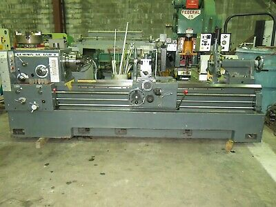 Geminis Ge-650 Gap Bed Lathe 2633 X 80 Inmm With Tooling